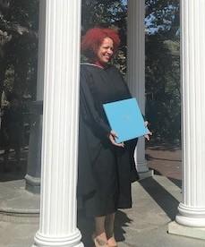 Hannah Jones, Recipient of Distinguished Alumna Award at UNC-Chapel Hill on October 12, 2019.jpg